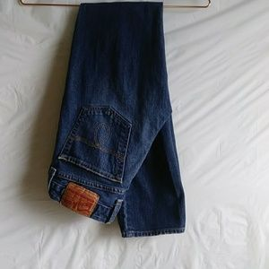 Womens Lucky Brand Lola Straight Leg 2/26
